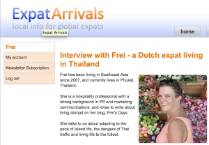 Interview with Frei - a Dutch expat living in Thailand